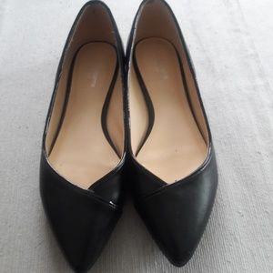 3 for $15  Liz Claiborne black flats